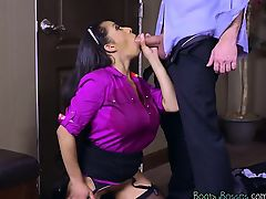 Hot Executive Priya Price Blows An extra Executive